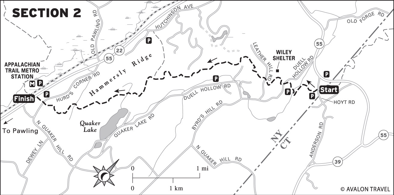 Nyc Sections Map Trail Section Two Map